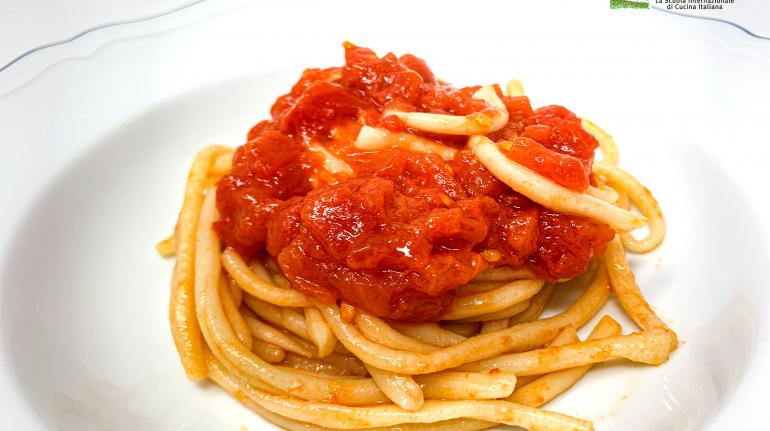 Pici all'aglione 1