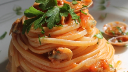 vongole in rosso