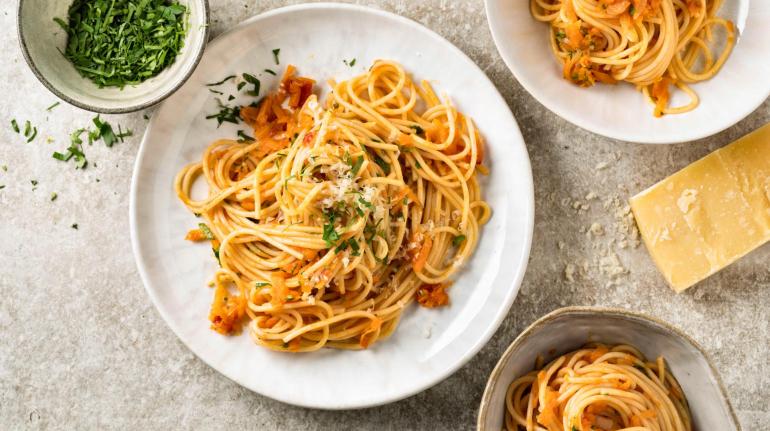 Spaghetti carote