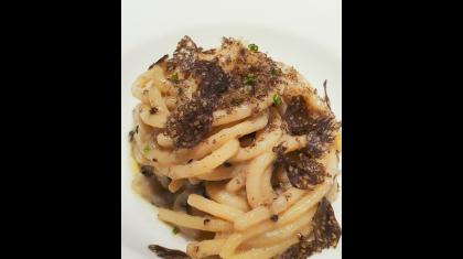 Spaghetto con caviale