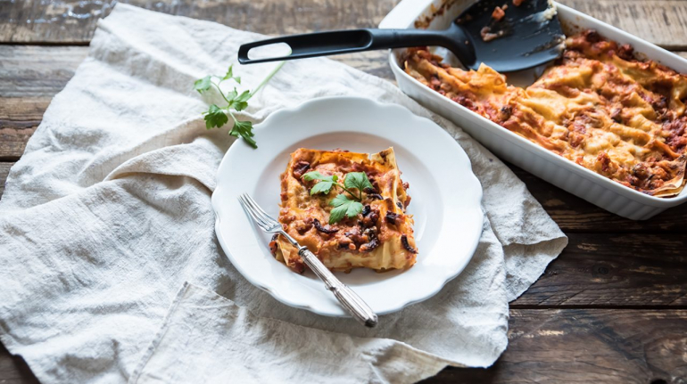 lasagne polpo